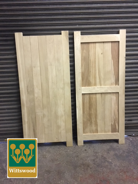 Framed Ledge and Brace Door